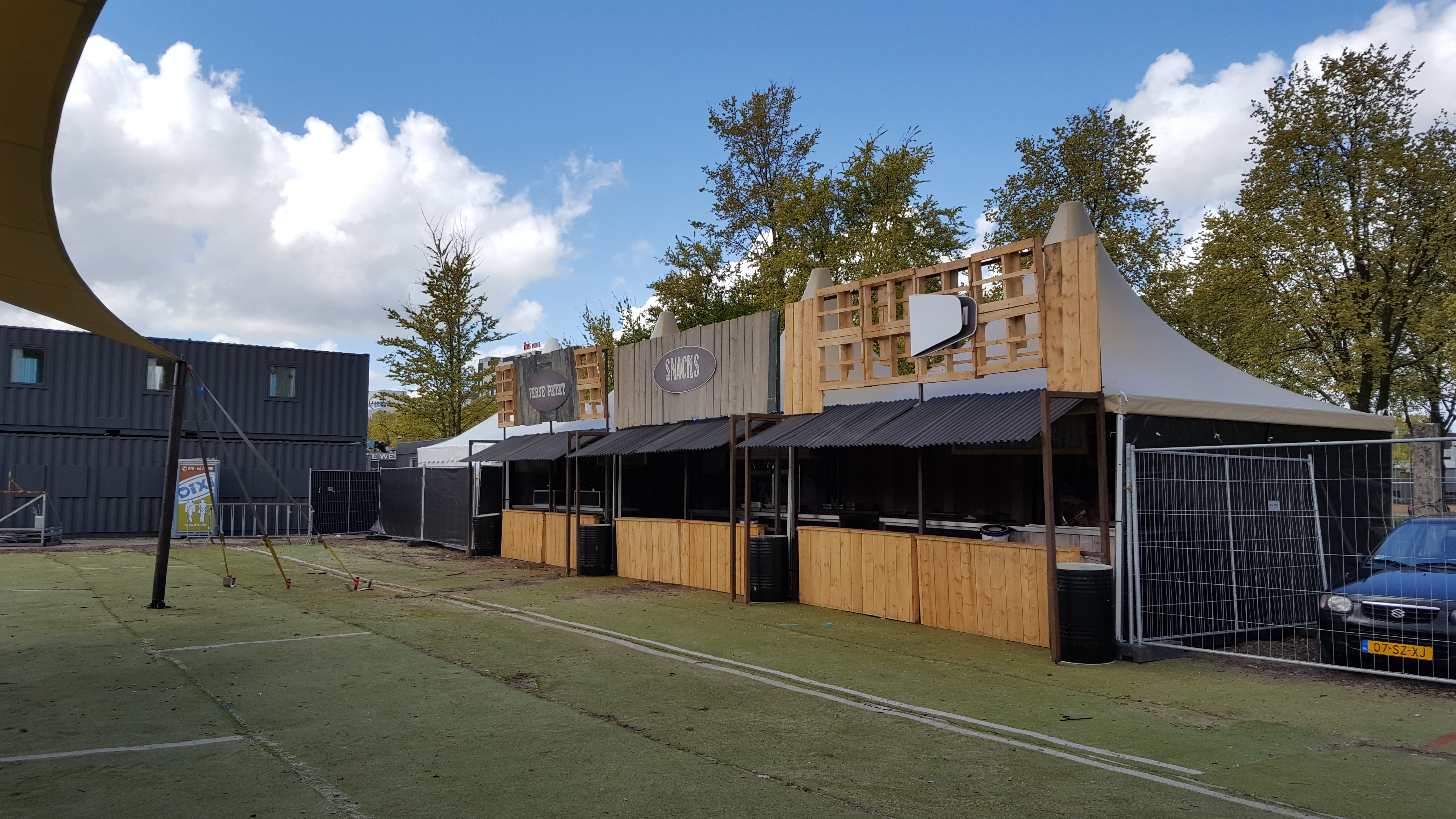 Opbouw Stadspodium 2017